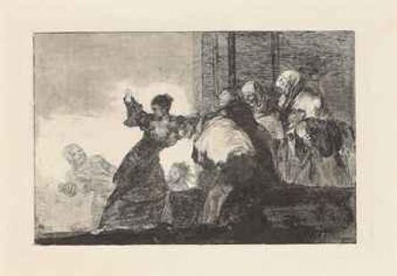 Francisco de Goya, 'Dos Cabezas piensan Mejor que Una', ca. 1816