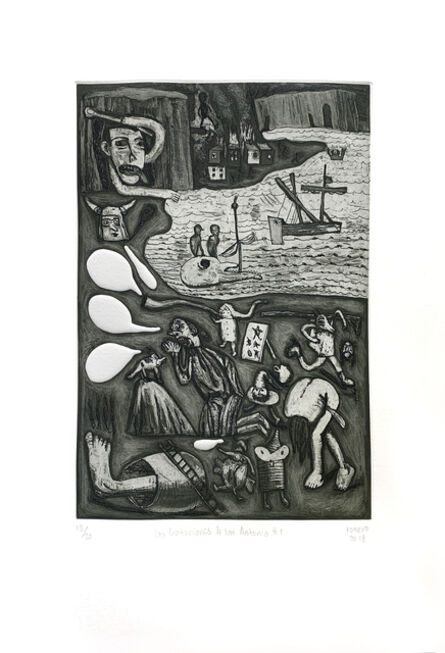 Armando Romero, 'Las Tentaciones de San Antonio #1', 2018