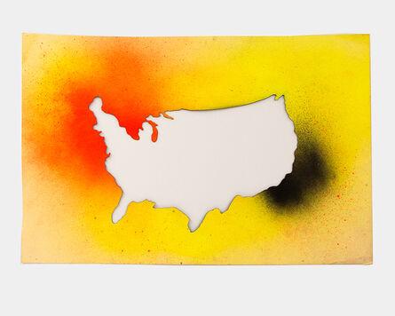 Jane Bauman, 'Backwards America', 1980
