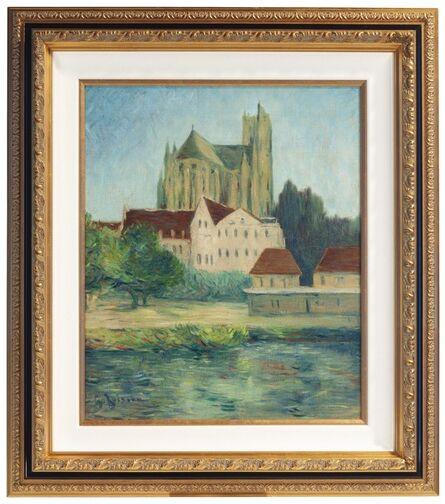 Gustave Loiseau, 'La Cathédrale d'Auxerre', 1907