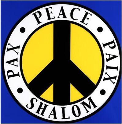 Robert Indiana, 'The Tel Aviv Peace', 2004