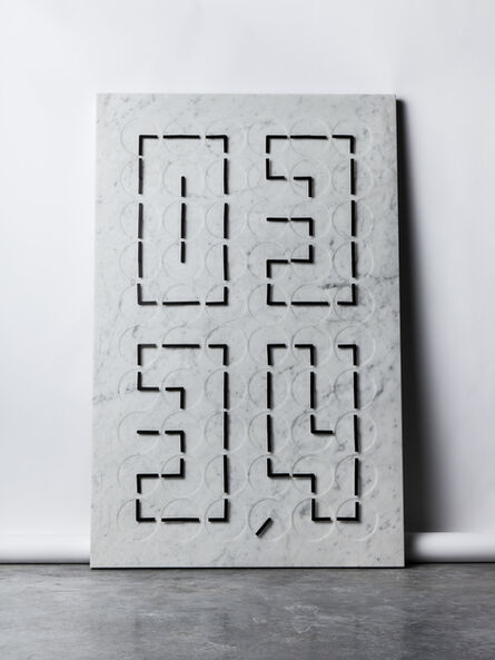 Humans Since 1982, 'A Million Times 60 V — marble', 2015