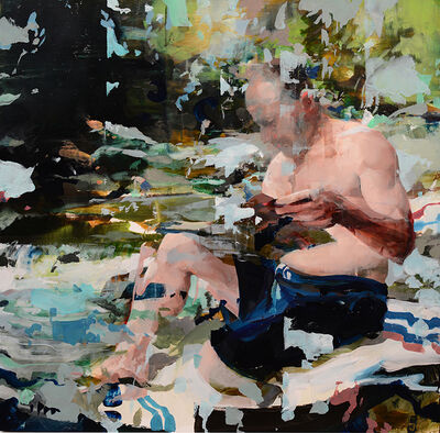 Alex Kanevsky, 'Professor Charles Gallagher vacationing in New England', 2015