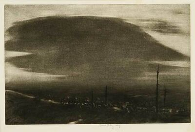 Kerr Eby, 'No Man's Land - St. Mihiel Drive', 1919