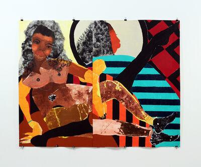 Tschabalala Self, 'Pieces of Me', 2015