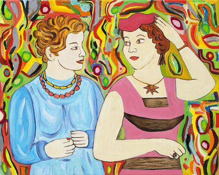 Susan Bee, 'Le Amiche', 2011