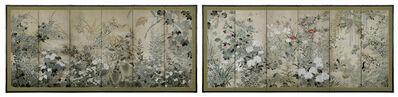Rinpa School, 'Birds and Flowers of the Four Seasons (T-1009)', Edo period (1615-1868)
