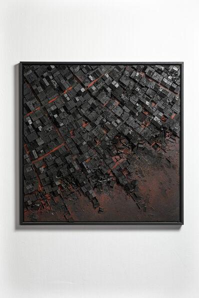 Hendrik Czakainski, 'Black/Red Square', 2020