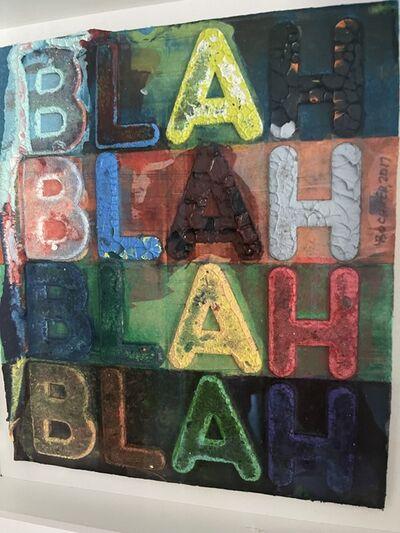 Mel Bochner, 'Blah, Blah,Blah', 2011