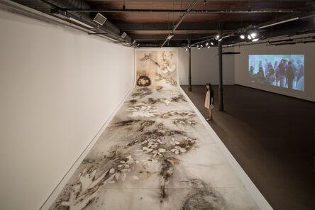 Cai Guo-Qiang 蔡国强, 'Installation view of Birds and Flowers of Brazil, Museu Nacional dos Correios, Rio de Janeiro', 2013