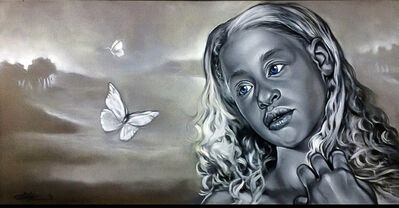 Gerald Griffin, 'White Butterfly', 2019