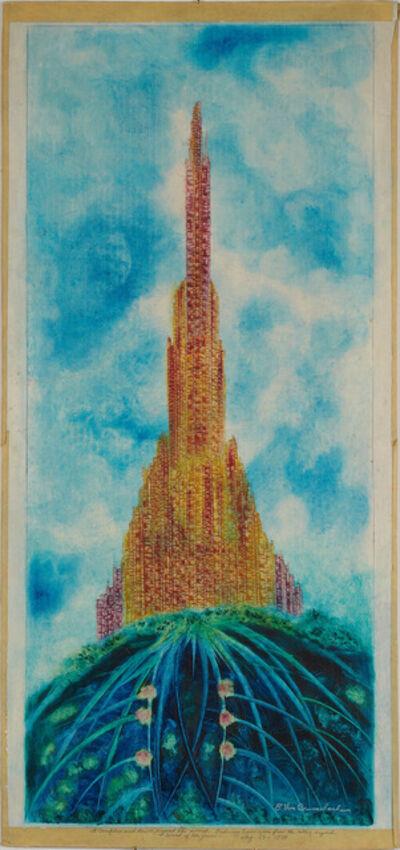 Eugene Von Bruenchenhein, 'Red Wing tower..., August 28, 1978', 1978