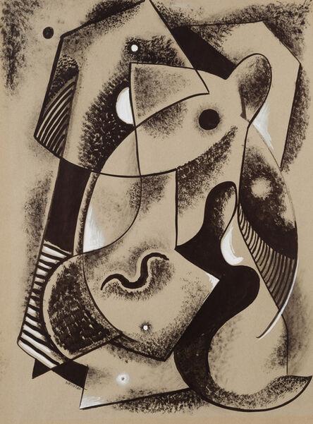 John Von Wicht, 'Abstract Figures'