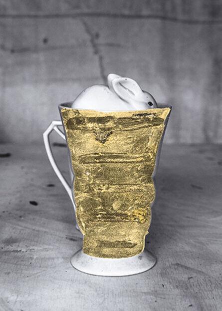 James Henkel, 'Repaired Cup with Rabbit', 2018