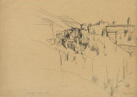 David Bomberg, 'Cuenca', 1934