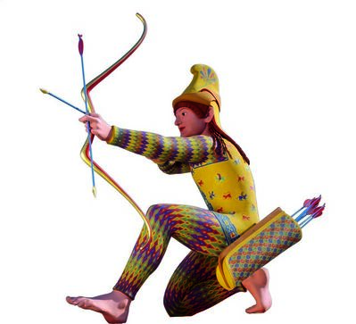 Various Artists, 'Reconstruction B of a Trojan archer', 2005