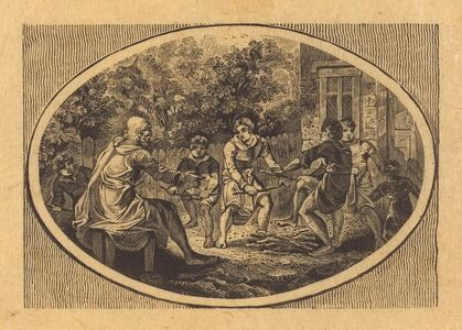 Thomas Bewick, 'The Boasting Traveler', 1818