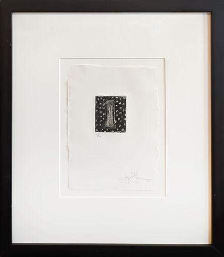 Jasper Johns, 'Figure 1 (from 0-9)', 1975