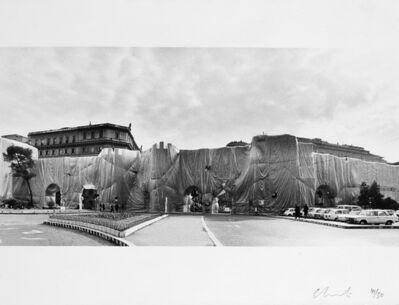Christo, 'Mura Aureliane, Roma', 1974
