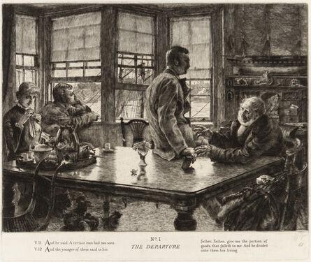 James Jacques-Joseph Tissot, 'L'ENFANT PRODIGUE', 1882