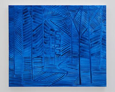 Benjamin Butler, 'Blue (Forest Path)', 2019
