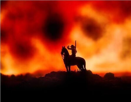 David Levinthal, 'Wild West WW 4x5 10'