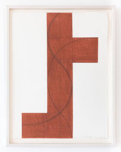 Robert Mangold (b.1937), 'Column Structure XII', 2006