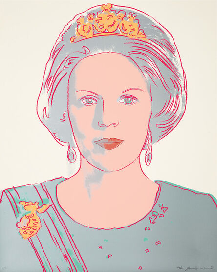 Andy Warhol, 'Queen Beatrix of the Netherlands, from Reigning Queens (F & S. 339)', 1985