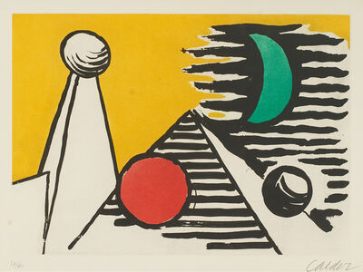 Alexander Calder, 'Aspect Lunaire', 1961