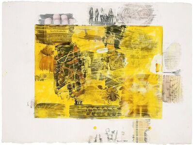 Robert Rauschenberg, 'Yellow Body', 1971