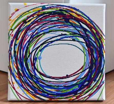 Astrid Stöppel, 'Colorful  minis  #22', 2018