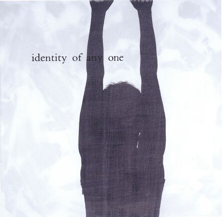 """Julião Sarmento, '""""Inadequate Readings (identity of any one)""""', 2003"""