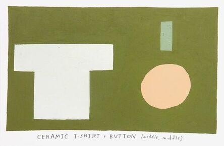 Kristin Texeira, 'ceramic t-shirt', 2017