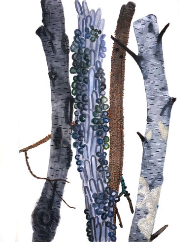 Katie DeGroot, 'Untitled (Blues)', 2020