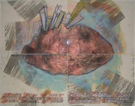 Dennis Oppenheim, 'Study for Heart', 1991