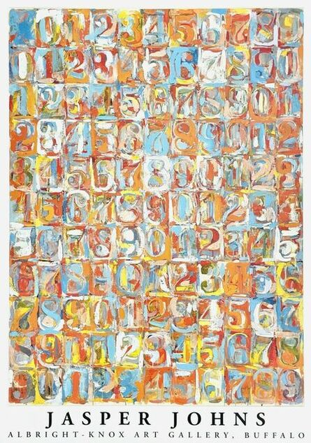 Jasper Johns, 'Numbers in Color, 1981 Albright-Knox Art Gallery Exhibition Poster', 1981