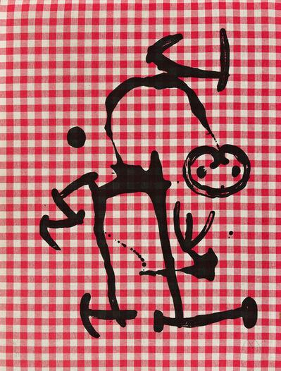 Joan Miró, 'L'Illetre aux Carreaux Rouges', 1969
