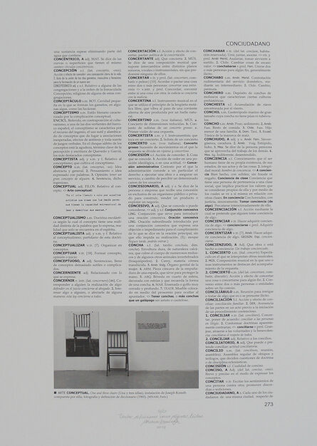 Adriana Ramirez, 'Tantas definiciones como páginas leídas', 2017