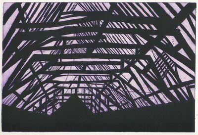 Tony Bevan, 'Violet Interior', 2002