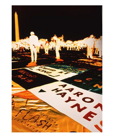 Lola Flash, 'The AIDS Quilt', 1987