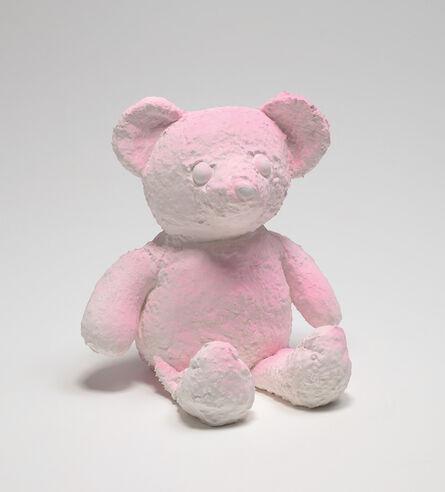 Daniel Arsham, 'Cracked Bear (Pink)', 2019
