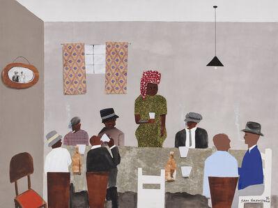 Sam Nhlengethwa, 'Shebeen Queen (Madi Curves)', 2016