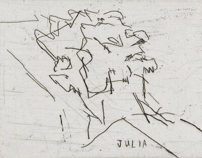Frank Auerbach, 'Julia (1994)', 1994