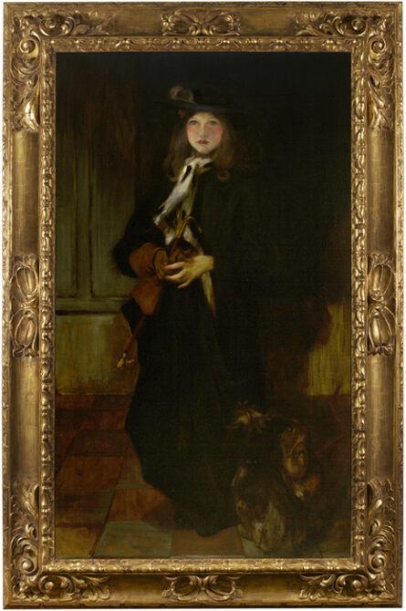 James Jebusa Shannon, 'Kitty', ca. 1897