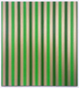 Paul Muguet, 'Bayadère No. 2 (green)', 2019