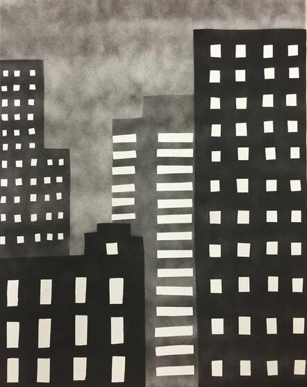 William Carroll, 'NEW YORK 80', 2015