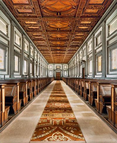 Ahmet Ertug, 'Library of Laurenziana (Michelangelo), Florence', 2016