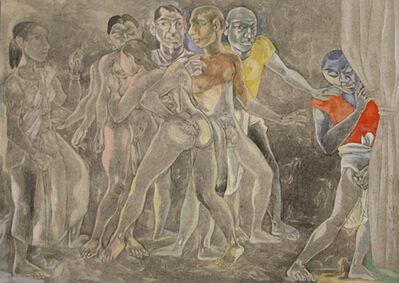 Laxma Goud, 'Untitled (Orgy)', 1991