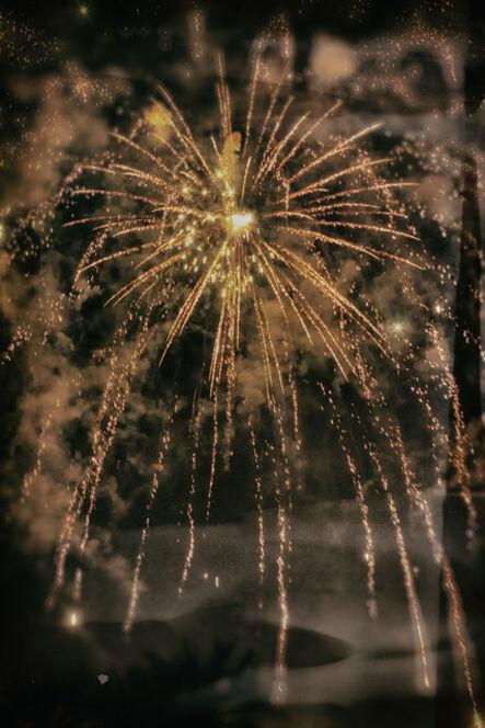 E.K. Waller, 'Brown Specular Fireworks', 2019