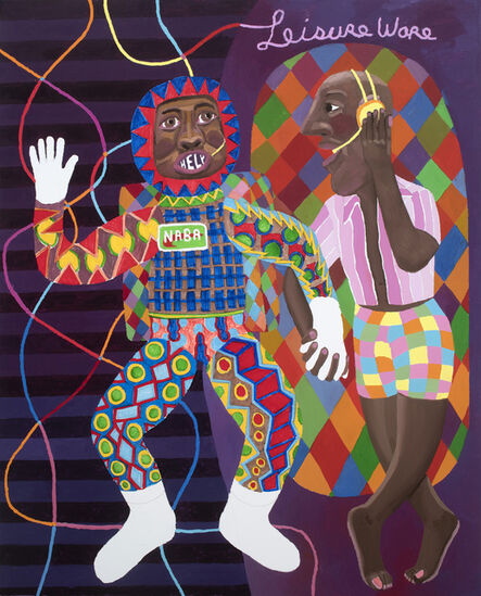Peter Williams (1952-2021), 'Pete and Mike', 2019